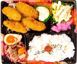 カキフライ弁当 590円