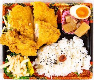 チキンカツ弁当 590円
