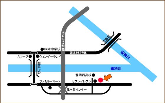 米こめ倶楽部地図